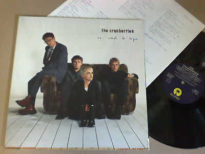 The Cranberries No Need To Argue 1994 - Island - Ilps 8029 Lp 0731452405012