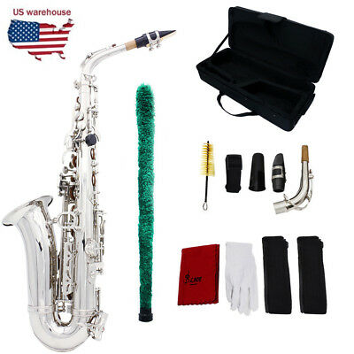 New Professional Eb Alto Sax Saxophone with Accessories US Shipping