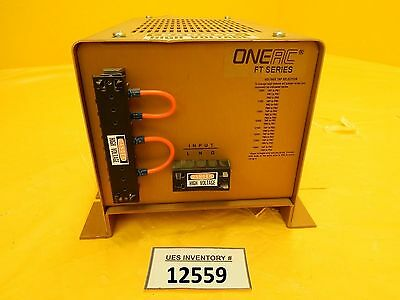 OneAC 009-166 Power Supply FT1115 MRC Eclipse Star Used Working