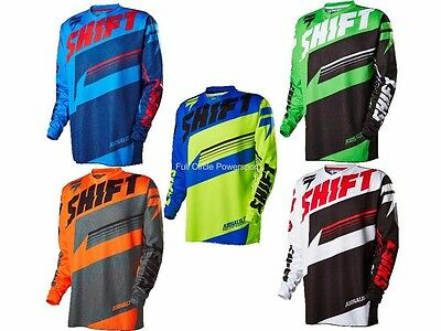 Shift MX Racing 2016 Assault Jersey Adult Sizes MX/ATV/BMX/MTB Off Road Shirt