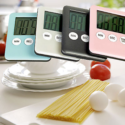 Mini Digital Electronic Kitchen Cooking Alarm Magnetic Timer LCD Display