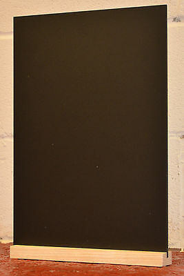 CHALKBOARD BLACKBOARD  TABLE TOP A4 x 1 FOR USE WITH LIQUID CHALK PENS