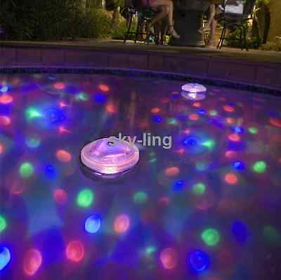 Underwater Disco LED Floating Light Swimming Pool party Show Lamp Child tub bath