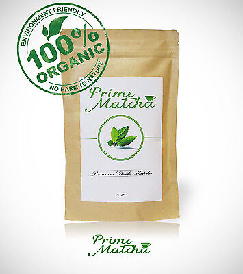 Prime Matcha Premium Japanese Organic Green Tea Powder - Up To 200 Serves