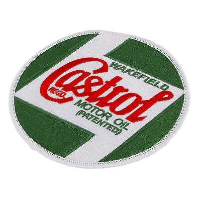 Castrol Classic Oil Sew On Cloth Jacket/Shirt/Overalls/Mechanic Badge/Patch