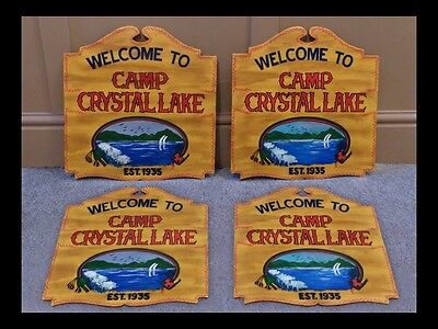 Friday The 13th, Jason Voorhees, Camp Crystal Lake Sign Replica