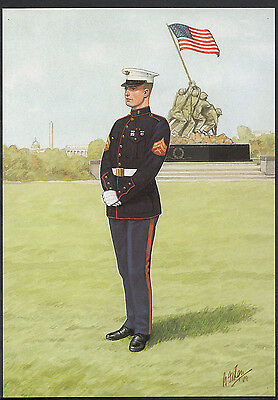 Military Postcard - Corporal, United States Marine Corps  A7898