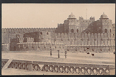 Asia Postcard? - Unknown Location - Large Fort, India?   BR616