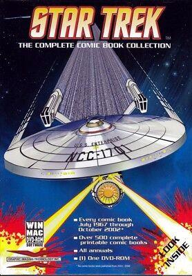 STAR TREK Comic Book COMPLETE Collection (DVD Rom) FREE US Shipping