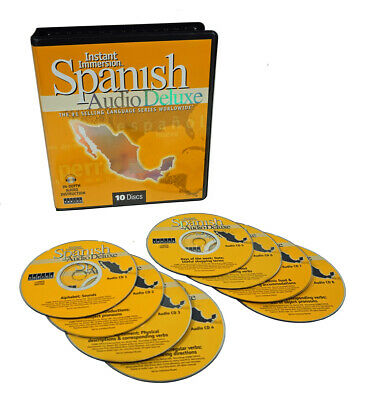 Learn to Speak & Understand SPANISH Language DELUXE 8 Audio CDs FREE US Shipping
