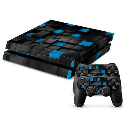 New Full Body Decal Skin Sticker Cover For PS4 Playstation Console 2 Controller