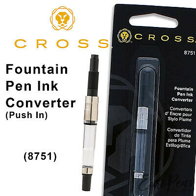 Cross Fountain Pen Ink Converter for Townsend & Aventura only Push-in  (#8751)