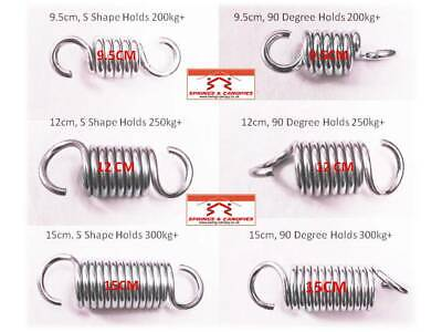 Heavy duty Springs 9.5cm - 15cm garden swing various sizes and styles available