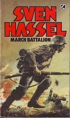 March Battalion, Sven Hassel Paperback Book The Cheap Fast Free Post