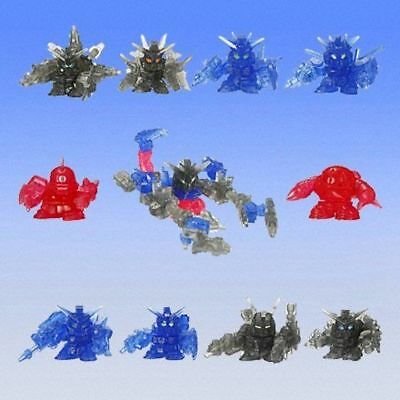 Bandai SD Gundam 00 Full Color Custom SP 02 Gashapon Figure Set of 10 Capsule