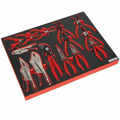 Sealey Premier Platinum Tool Chest Tray With Pliers Set 14pc - TBTP05