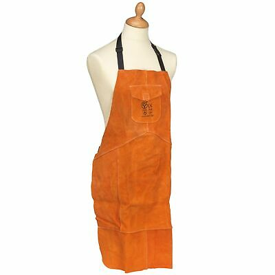 Sealey Heavy-Duty Leather Welding/Welder Work Protection Apron/Cover - SSP146