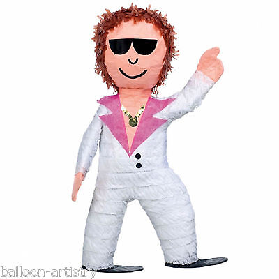 Groovy 1970's Disco Dancer Man Character BASH Pinata Party Game Decoration