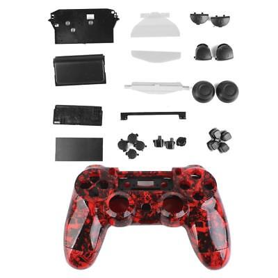 Skull Controller Shell Housing Case Kit Buttons Parts for PlayStation4 PS4