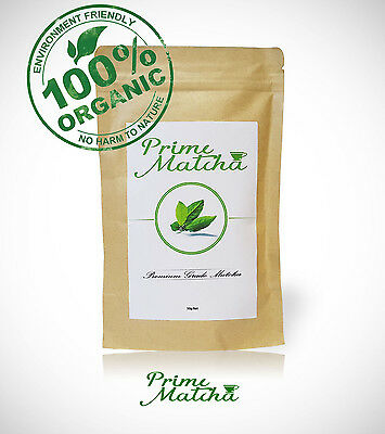 Prime Matcha Premium Japanese Organic Green Tea Powder - Up To 100 Serves