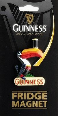 Guinness Toucan 3D ceramic fridge magnet (sg 0197b)