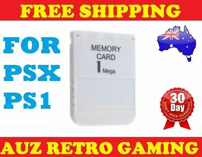 NEW 1MB Memory Card Save Blocks for SONY Playstation 1 PS1 PS PSX One Console