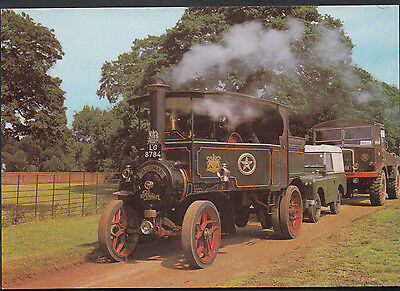 Transport Postcard - Foden Tractor, 360 Gallon Water Tank  A8234