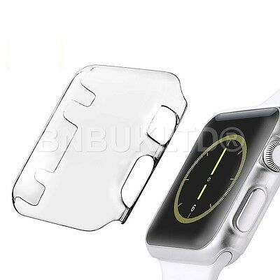 Cystal Clear Slim Thin Hard Snap On Case Cover For Apple Watch i Watch