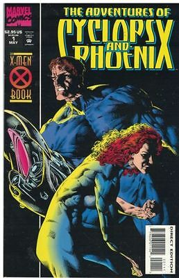 The Adventures of Cyclops and Phoenix #1 (May 1994, Marvel)