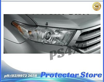 2010-2013 Toyota Kluger Head Light Protectors Lamp Covers