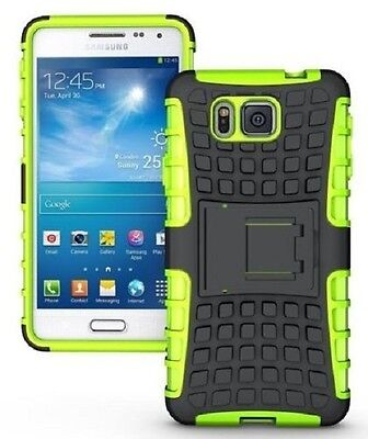 SAMSUNG GALAXY ALPHA [Slim Armour] Tough Shock Proof Cover Stand + LCD Guard