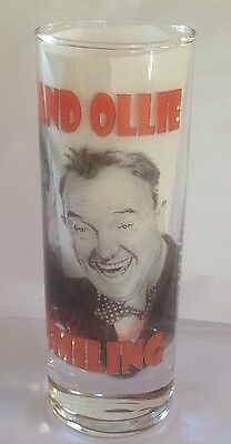 LAUREL AND HARDY Keep Smiling SHOT GLASS