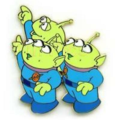LITTLE GREEN MEN TOY STORY 2 JOURNEY THROUGH TIME FUTURE MAP LE Disney PIN 25291
