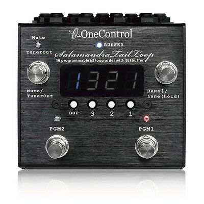 One Control Salamandra Tail Loop Effect Pedals programmable  Controller Switcher