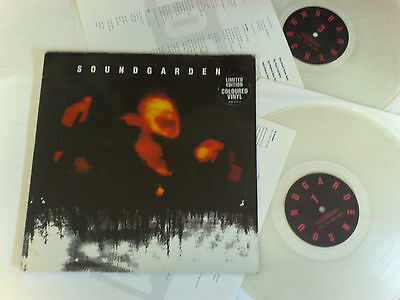 Soundgarden Superunknown 1994 A&m Limited Edition Coloured Vinyl 0731454021517
