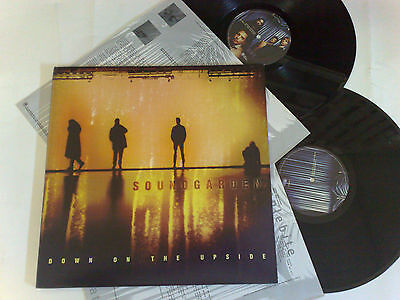 Soundgarden Down On The Upside 1996 A&m 3145405261 2 Lp Usa 0731454052610