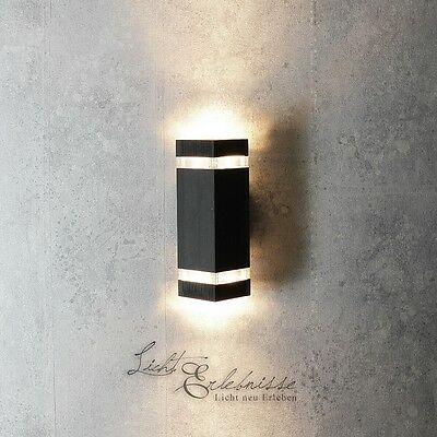 Applique murale blanche up down lampe ext rieur for Luminaire exterieur zinc