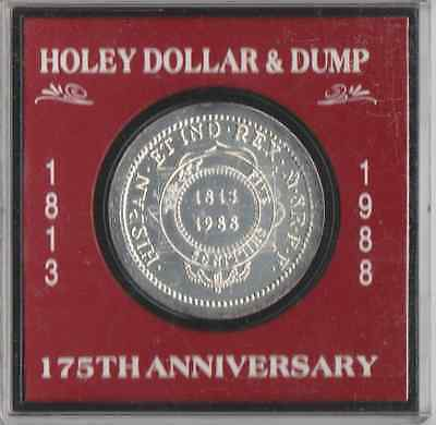 1813-1988 holey dollar and dump 175th anniversary nsw