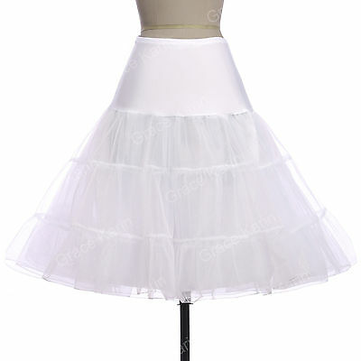Fifty 50s Wedding Crinoline Underskirts PinUp Vintage Petticoat Dress