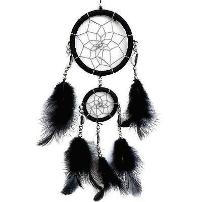 Handmade Dream Catcher with feathers car or wall hanging decoration ornament D