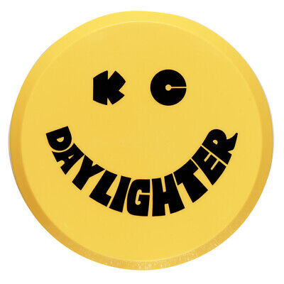 """KC Hilites Round Lamp/Light/Spot Light Cover - 6"""" - Yellow Smiley - Hard"""