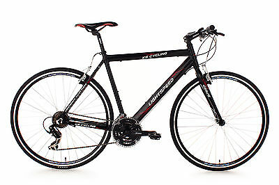 FITNESS SPEED BIKE 28'' RENNRAD LIGHTSPEED SCHWARZ ALU RH 54 cm KS CYCLING 200B