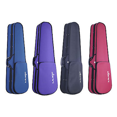 Basic Violin Case Muzip FULL SIZE 4/4 - High Quality! Available in 4 Colours
