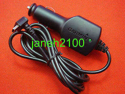 Genuine Garmin NUVI 2460 2455  2495LMT GPS Vehicle Power Cable/Cord Charger