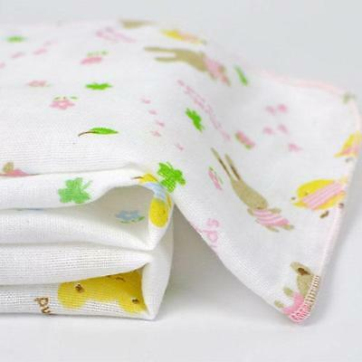 3pcs Baby Newborn Soft Gauze Muslin Square Bath Wash Cloths Bib Towel 2 Sizes JJ