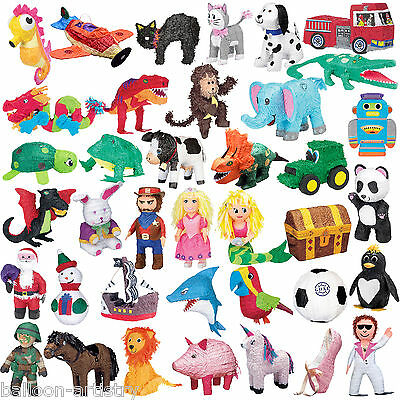 Assorted Children's Birthday BASH Pinata Pinata's Party Game Decorations