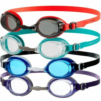 Speedo Jet Senior Adult Uv Anti Fog Swimming Goggles New
