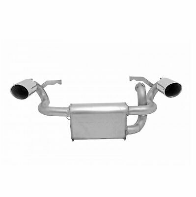 Gibson 98023 Stainless Steel UTV Dual Exhaust System for Polaris RZR S 900
