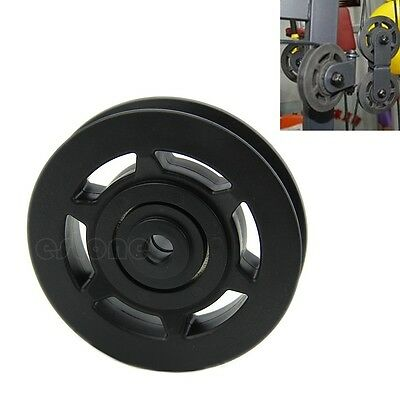 Durable 95mm Bearing Pulley Wheel Cable Gym Equipment Part Wearproof Universal