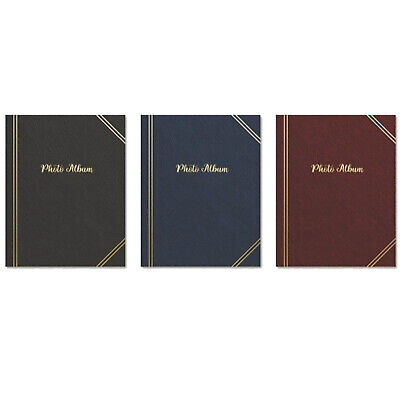 "Tallon 6"" X 4"" Plain Photo Album with 100 Pockets - 011240"